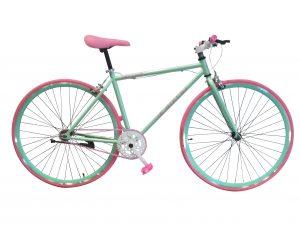 bicicleta rosa fallas valencia