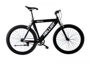 bicicleta negra fallas valencia