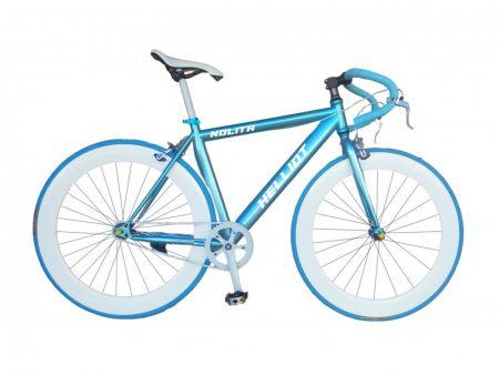 bicicleta fixie azul Nolita 59 frontal