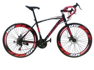 Bicicleta carretera negra