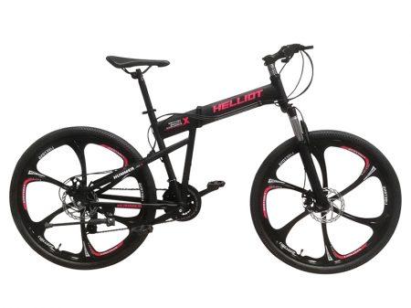 bicicleta de montaña plegable