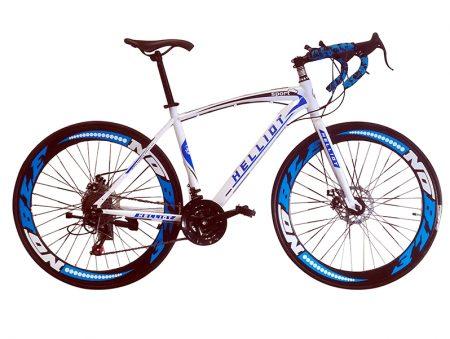 bicicleta de carretera blanca