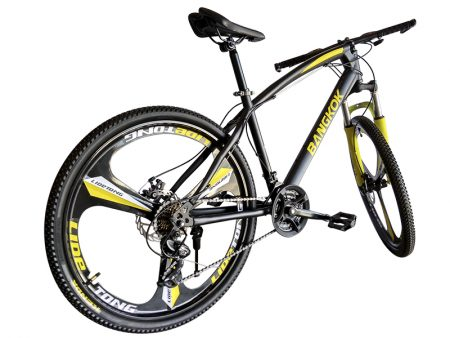detras Bangkok amarilla mountain bike urban
