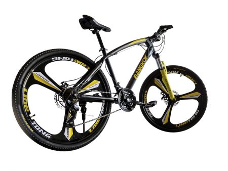 trasera Bangkok amarilla mountain bike urban