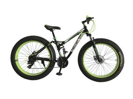 Frontal Fatbike verde