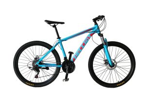 mountain bike azul