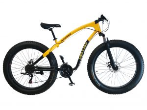 fat bike amarilla