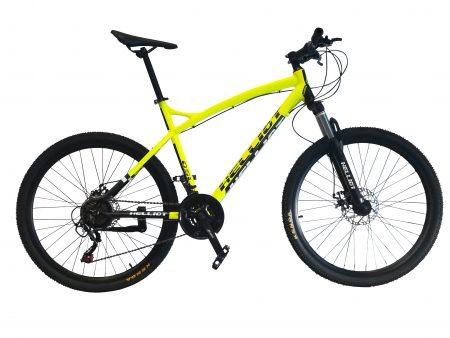 Mountain Bike Amarilla