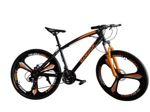 mountain bike orange