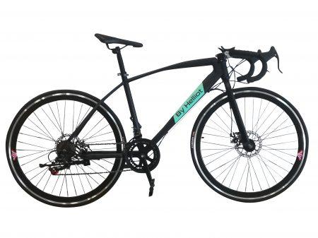 bicicleta de carretera negra