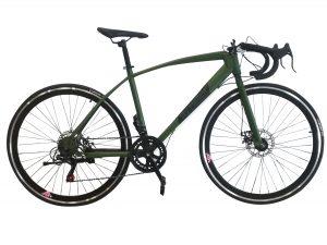 bicicleta de carretera verde