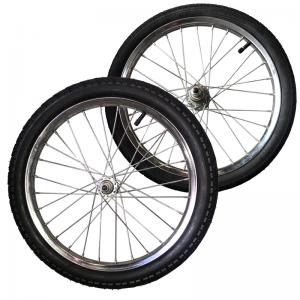 dos ruedas 18 pulgadas