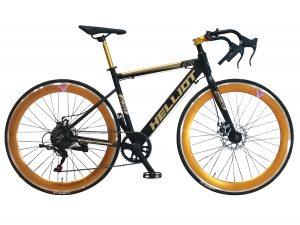 bicicleta ciclismo negra